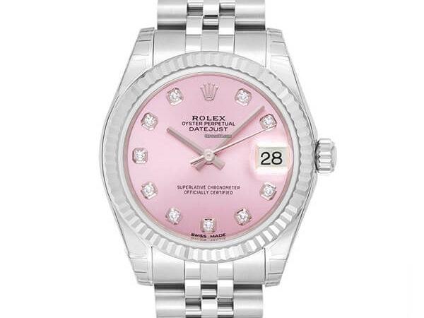 Rolex Date Just 31 178274G rosa